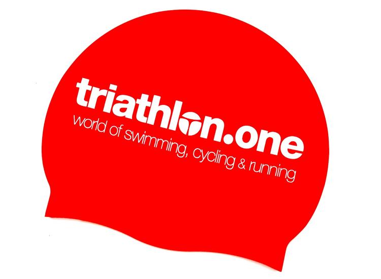 Bild von triathlon.one Schwimmkappe, rot, 47 g Silikon