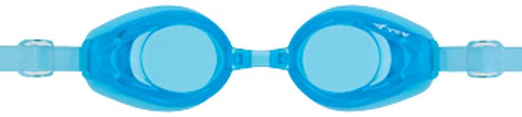 Bild von Kinder-Schwimmbrille mit Plangläsern V-710JA, aquamarin, ca. 4-9 Jahre, 1 Stück