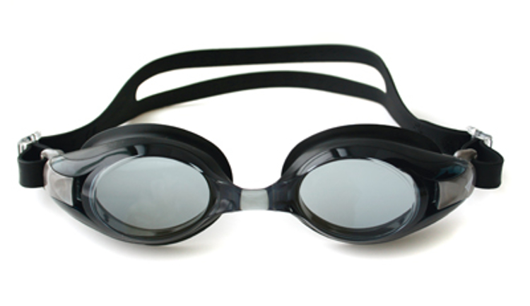 """Picture of Plano-Schwimmbrille """"Platina"""" V-500A, schwarz"""