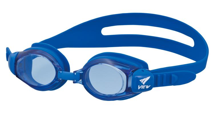 Bild von Kinder-Schwimmbrille mit Plangläsern V-730JA, blau, ca. 4-9 Jahre, 1 Stück
