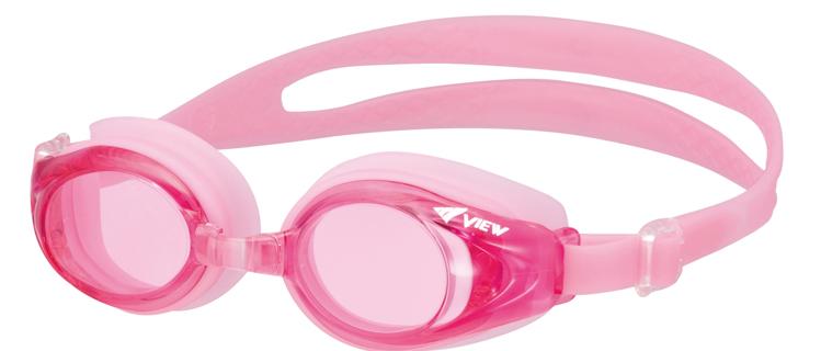 Bild von Kinder-Schwimmbrille mit Plangläsern V-710JA, pink, ca. 4-9 Jahre, 1 Stück