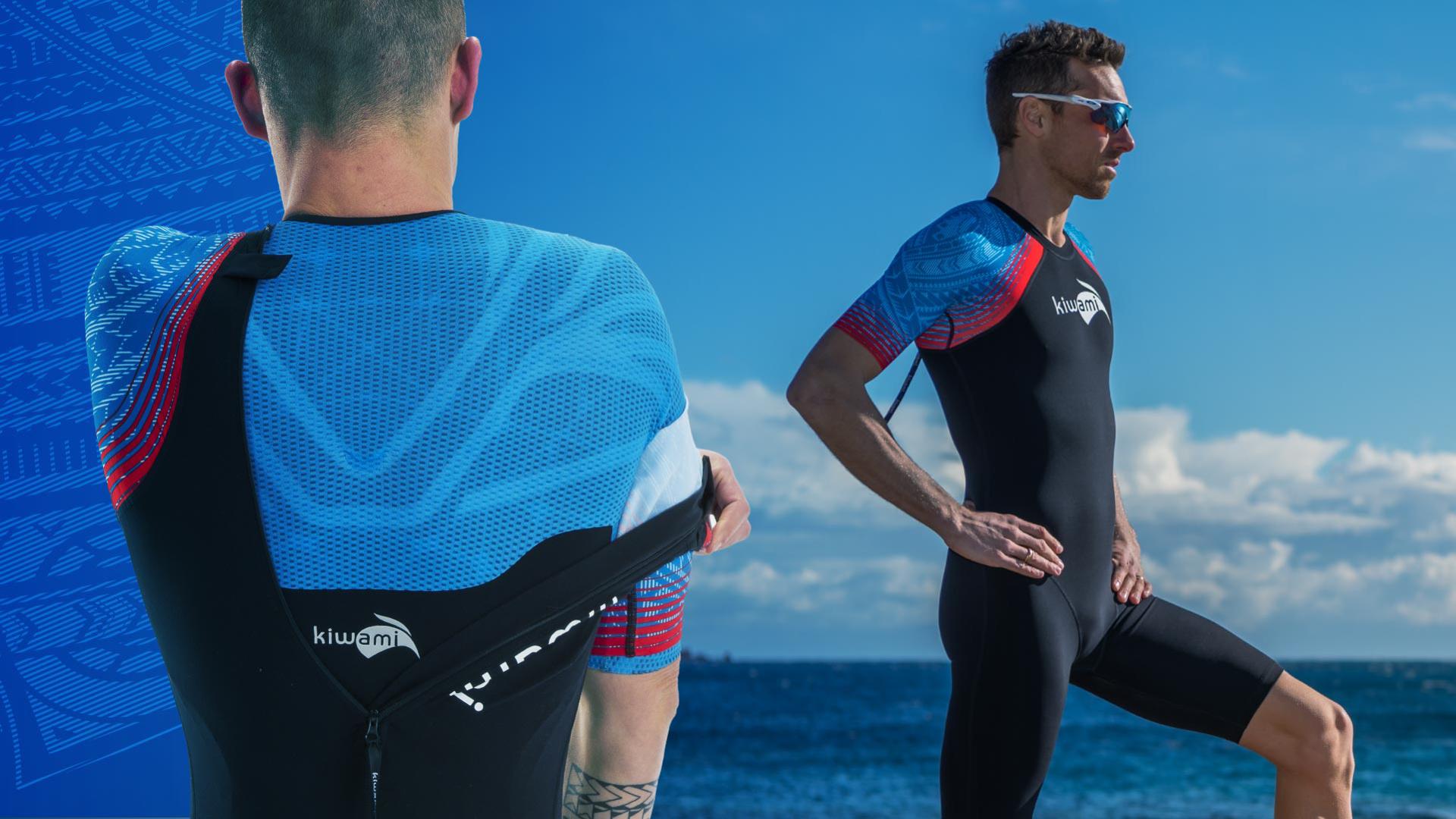 KiWAMi Triathlon | Aquarush Swimskin - ideal fürs Freiwasserschwimmen und bei Neo-Verbot