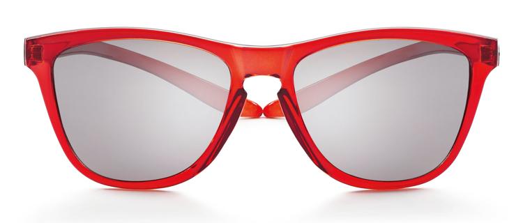 Bild von koala Sonnenbrille, rot, polarisierende Gläser grau, verspiegelt