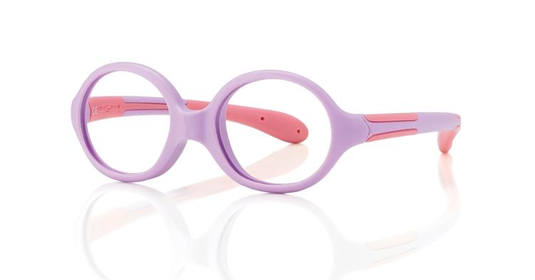 """Bild von Baby-Fassung """"Active Soft"""", violett/pink, Gr. 37-14, inkl. Etui, 1 Stück"""