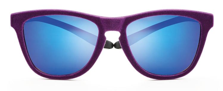 Bild von koala Sonnenbrille, lila Velvet/schwarz, polarisierende Gläser grau, blau versp.