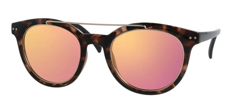 Bild von Kunststoff-Sonnenbrille, havanna glänzend, polarisierende Gläser braun