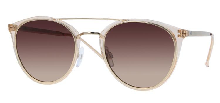Bild von Kunststoff-/Metallsonnenbrille, Gr. 51-21, polarisierende Gläser, inkl. Etui