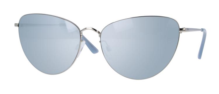 """Bild von Metall-Damensonnenbrille """"Donna"""", Gr. 58-16, Polycarbonatgläser, inkl. Etui"""