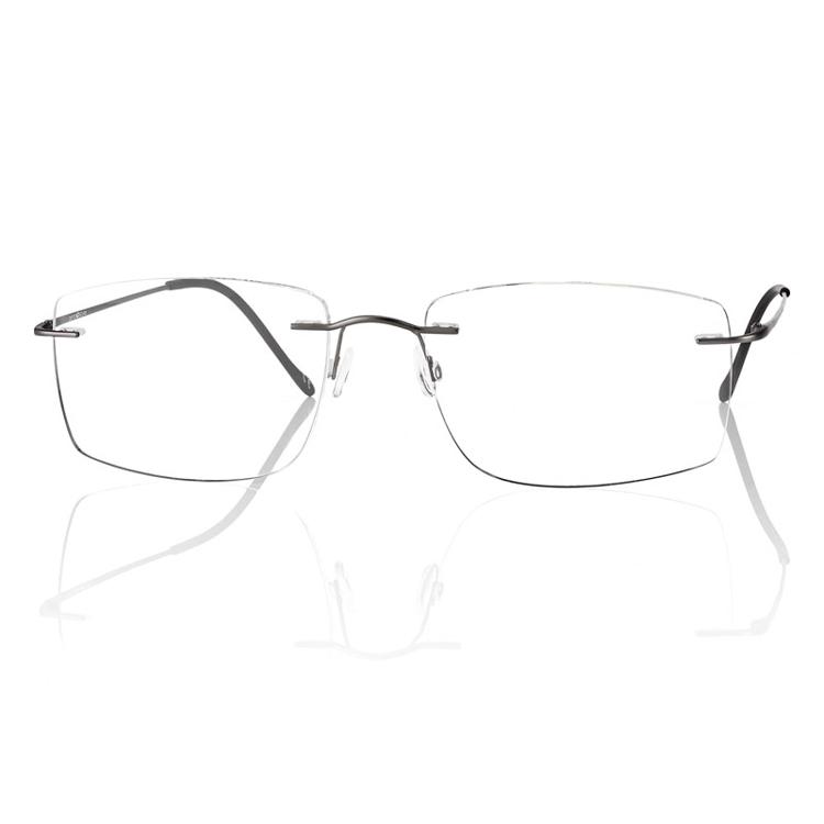 Bild von Bohrbrille Beta-Titan, gun metall matt, Gr. 57-18, 1 Stück