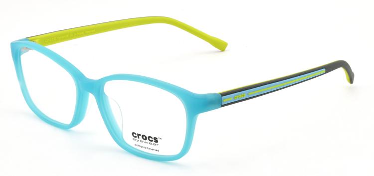 "Bild von Kinderfassung ""crocs"", Acetat, Gr. 49-15, Bügel 126 mm, inkl. Etui, 1 Stück"