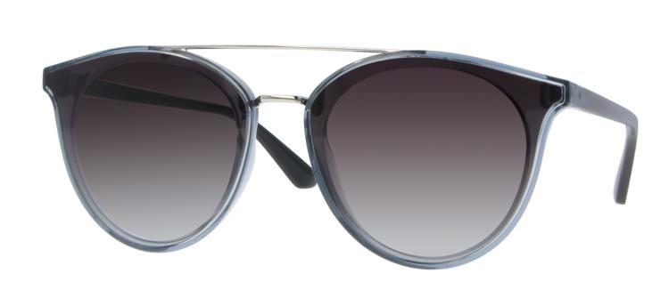 Bild von Kunststoff-/Metallsonnenbrille, Gr. 48-15 polarisierende Gläser, inkl. Etui