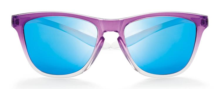 Bild von koala Sonnenbrille, violett verlauf, polarisierende Gläser grau, blau versp.