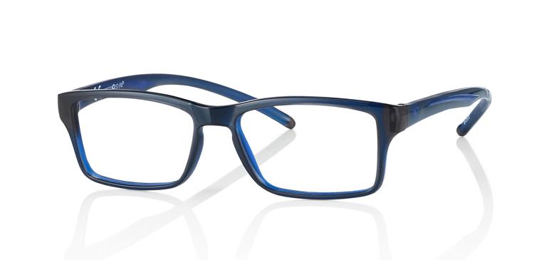 """Bild von Brillenfassung """"Active"""", Gr. 50-15, schwarz/blau, inkl. Brillenhalter und Etui"""