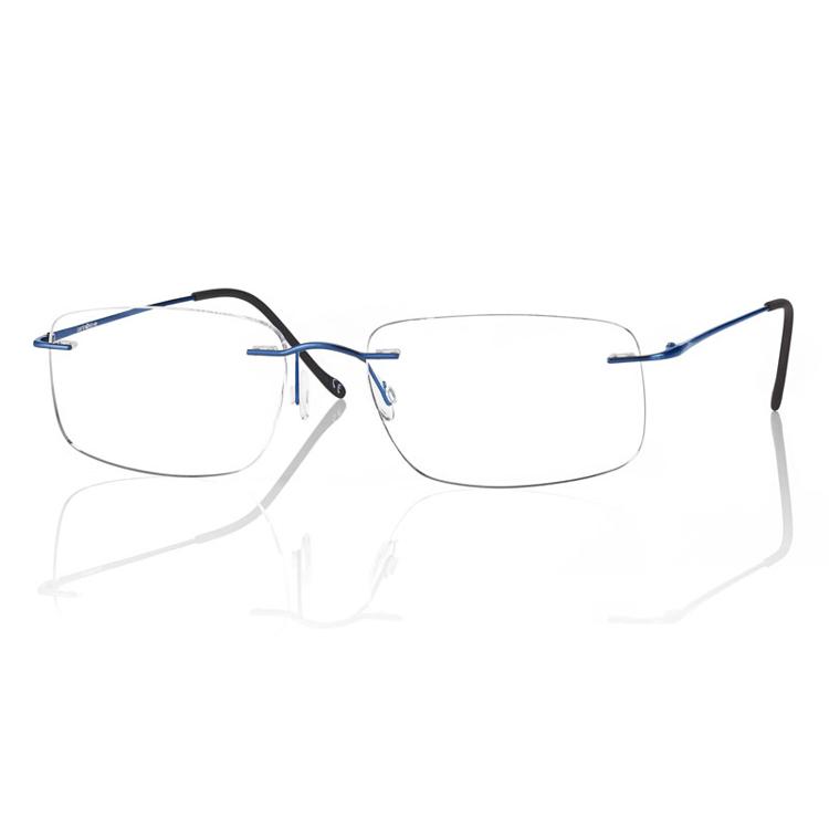 Picture of Bohrbrille Beta-Titan, blau matt, Gr. 55-17, 1 Stück
