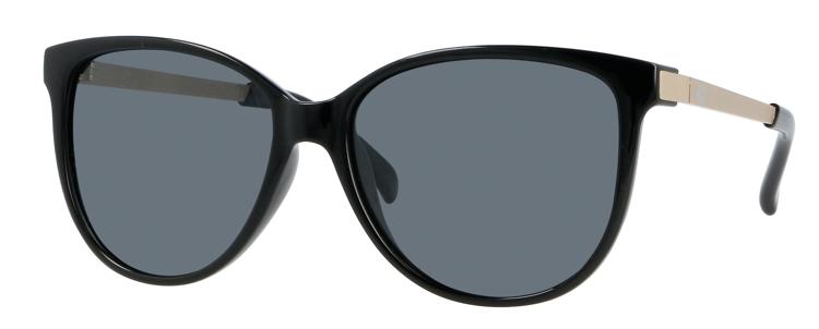Bild von Kunststoff-Sonnenbrille, mit Metallbügeln, Gr. 57-16, polarisierende Gläser