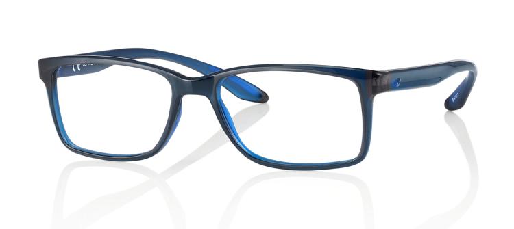 """Bild von Brillenfassung """"Active"""", Gr. 54-17, schwarz/blau, inkl. Brillenhalter und Etui"""