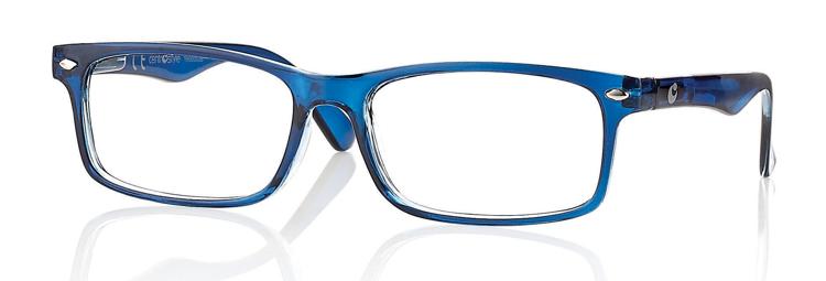 Bild von Kunststoff-Fertiglesebrille, blau, Gr. 53-16, 1 Stück