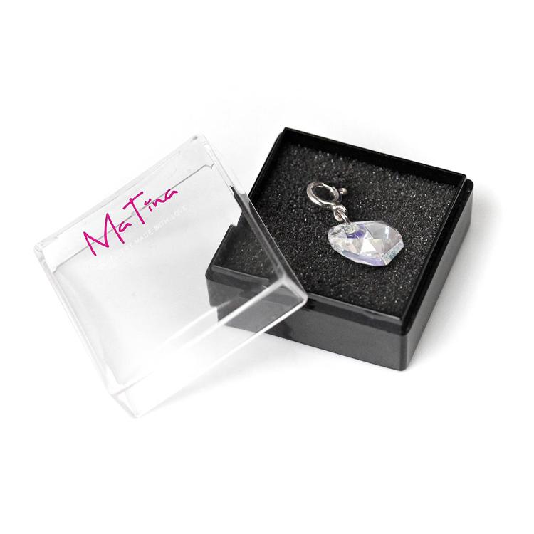"Picture of Charm MaTina ""Swarovski Chrystall"", Verschluss 925 Silber, 1 Stück"