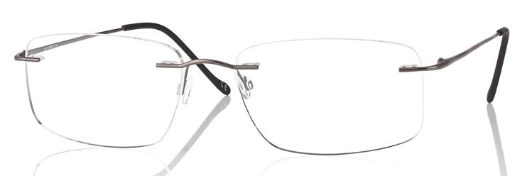Picture of Bohrbrille Beta-Titan, gun metall matt, Gr. 55-17, 1 Stück