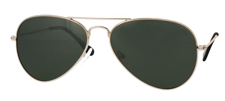 Picture of Metall-Sonnenbrille, gold glänzend, polarisierende Gläser grau verspiegelt