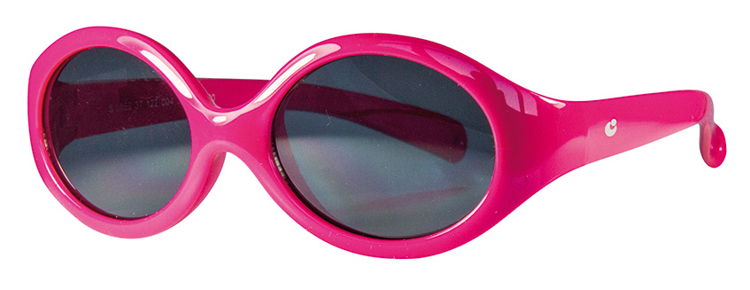 Bild von Baby-/Kindersonnenbrille, Gr. 39-14,Polycarbonat-Gläser grau, leicht verspiegelt