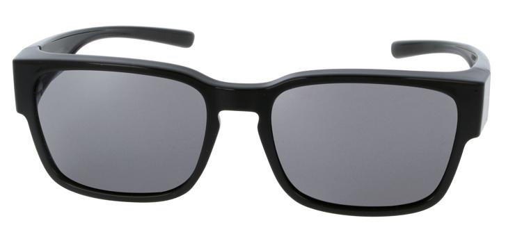 Bild von Überziehbrille, Grilamid, graue polarisierende Gläser, Gr. 54-17, inkl. Etui