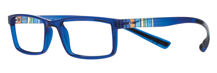 Bild von Kunststoff-Fertiglesebrille mit Blaulichtfilter, 3 versch. Farben, Gr. 52-18