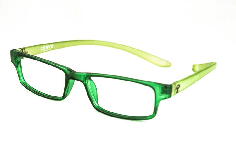 """Bild von Kunststoff-Fertiglesebrille """"Cervo"""", grün/hellgrün, Gr. 52-18, 1 Stück"""