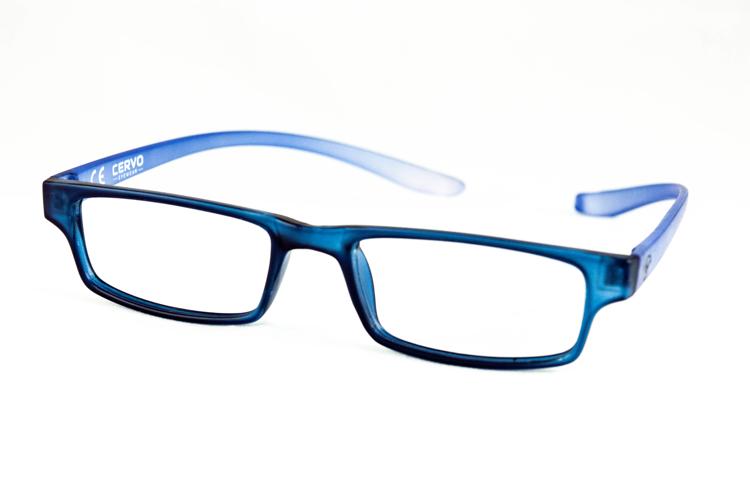 "Bild von Kunststoff-Fertiglesebrille ""Cervo"", dunkelblau/blau, Gr. 52-18, 1 Stück"