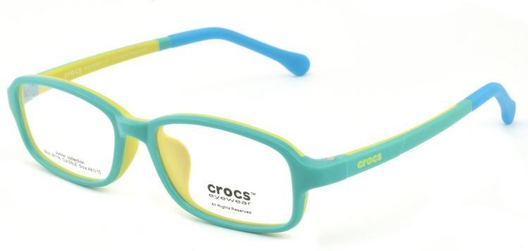 """Bild von Kinderfassung """"crocs"""", TR90, Gr. 48-15, verschiedene Farben, inkl. Etui"""