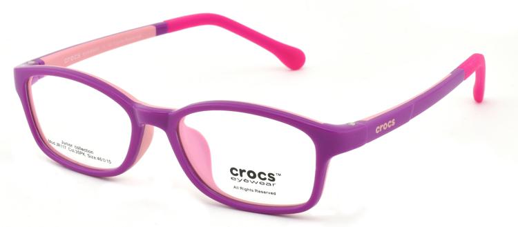 """Bild von Kinderfassung """"crocs"""", TR90, Gr. 46-15, verschiedene Farben, inkl. Etui"""