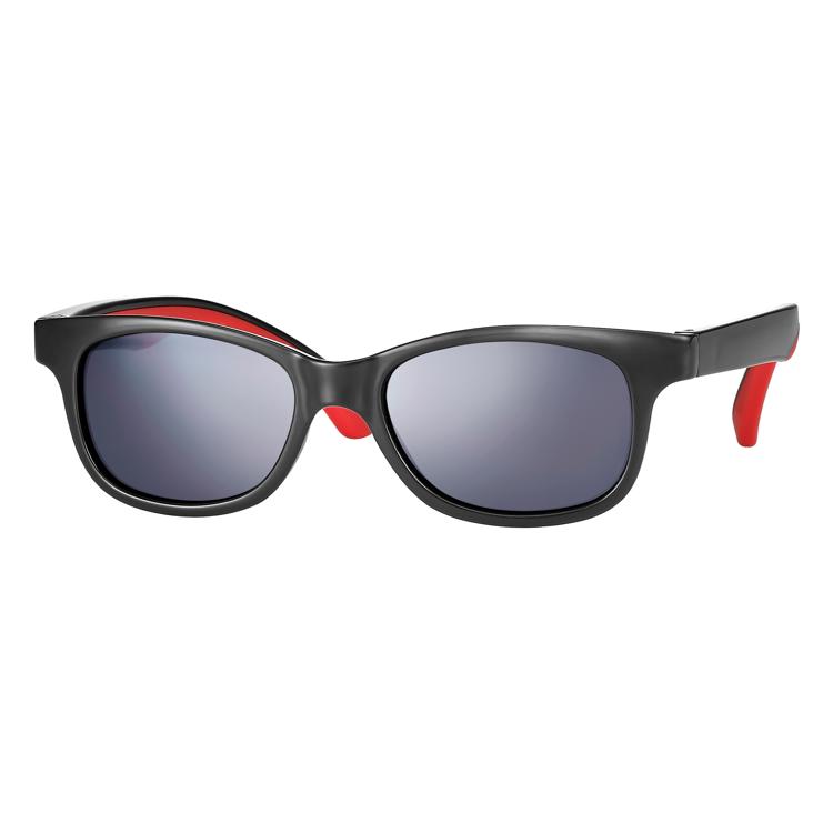 Bild von Kindersonnenbrille, zweifarbig, Gr. 48-16, in 3 Farben, Polycarbonat-Gläser grau