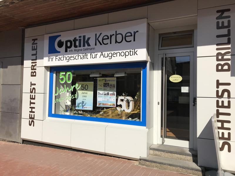 Willkommen bei Optik Kerber in Barsinghausen!